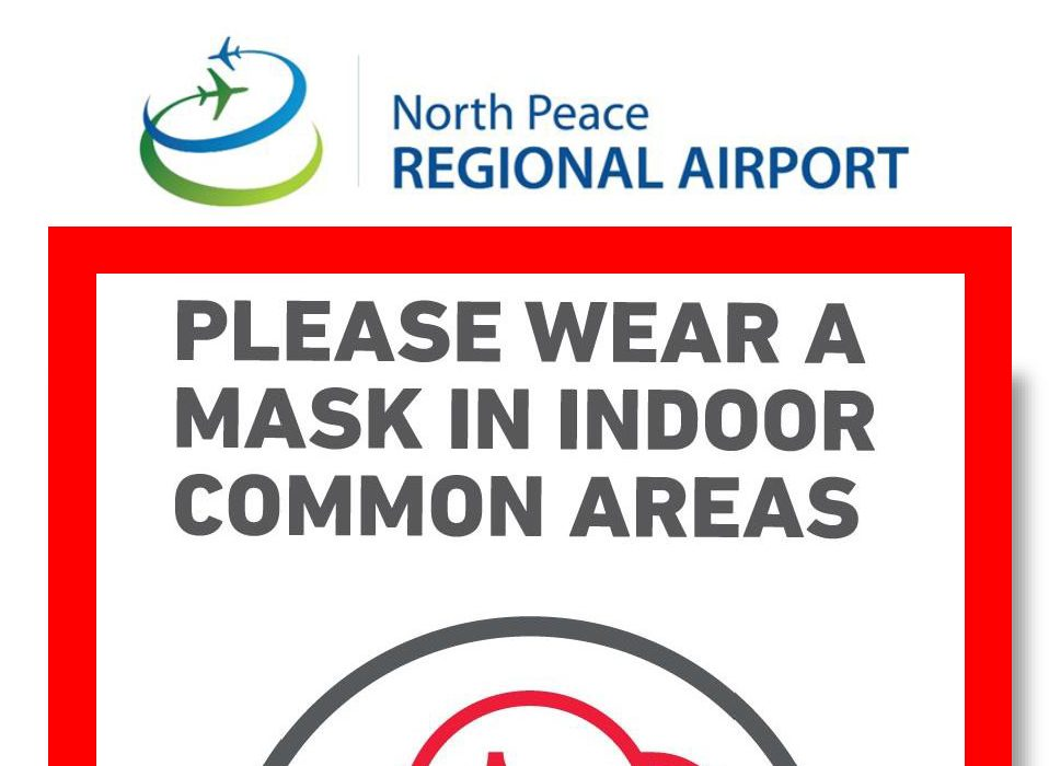 Reminder to wear masks indoors for common areas